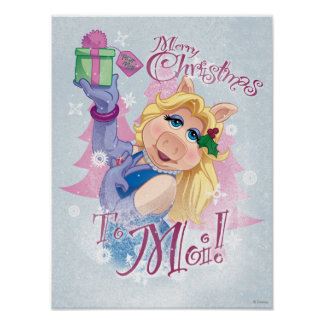 Merry Christmas to Moi Poster