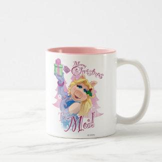 Merry Christmas to Moi Two-Tone Coffee Mug