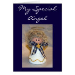 MERRY CHRISTMAS TO MY SPECIAL ANGEL CARD