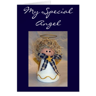 MERRY CHRISTMAS TO MY SPECIAL ANGEL GREETING CARD