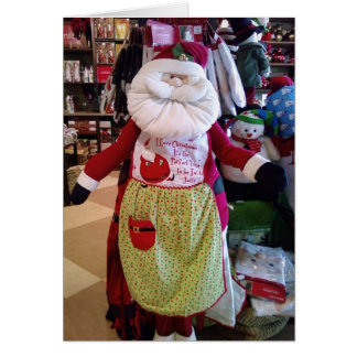 MERRY CHRISTMAS TO MY WIFE MRS SANTA CLAUS GREETING CARDS