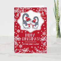 Merry Christmas to the One I Love. Greeting Cards