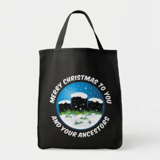 Merry Christmas To You And Your Ancestors Tote Bag