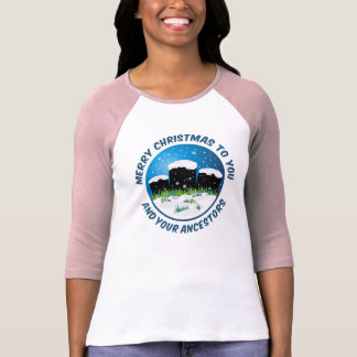 Merry Christmas To You And Your Ancestors Tshirts
