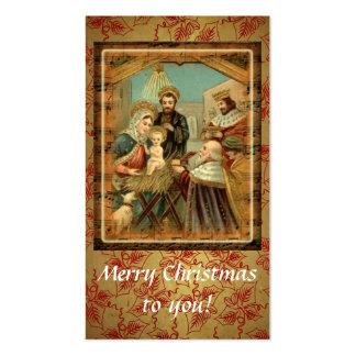 Merry Christmas To You Custom Business  Card