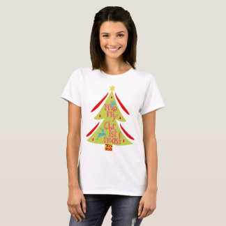 Merry Christmas To You Monogram T-shirt