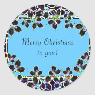 Merry Christmas to you stickers