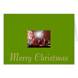 Merry Christmas to young soldiers Greeting Card