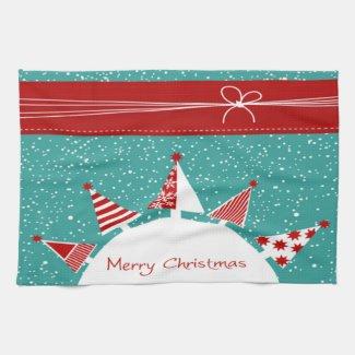 Merry Christmas Towel Kitchen