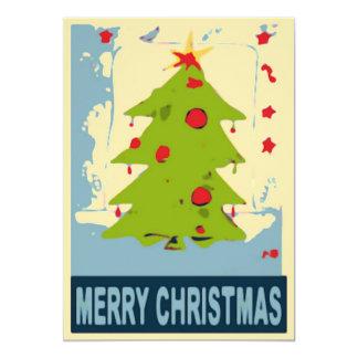 Merry Christmas Tree 2 Card