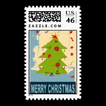 Merry Christmas Tree 2 stamps