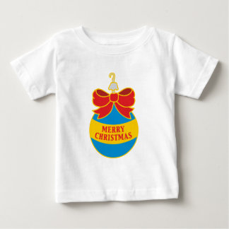 Merry Christmas tree bauble T-shirt