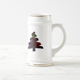 Merry Christmas Tree Beer Stein