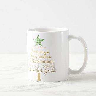 Merry Christmas Tree Coffe Mug