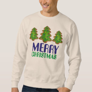 Merry Christmas Tree Cookie Ugly Xmas Sweater