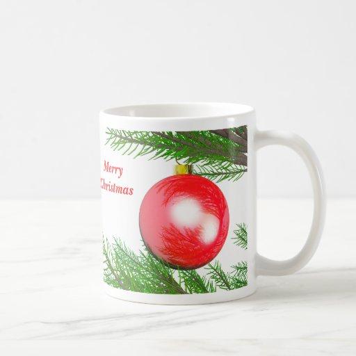Merry Christmas Tree Decoration Coffee Mug