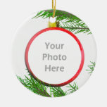 Merry Christmas Tree Decoration (photo frame) Christmas Ornament