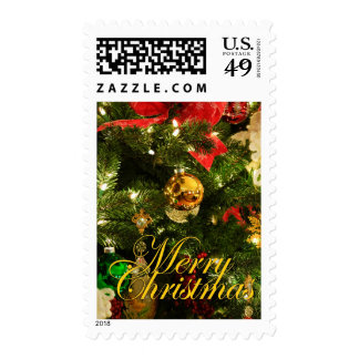 Merry Christmas - Tree decorations Stamp