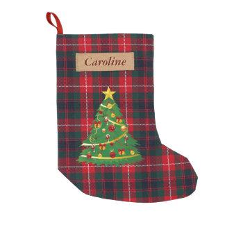 Tartan Plaid Christmas Stockings Tartan Plaid Xmas