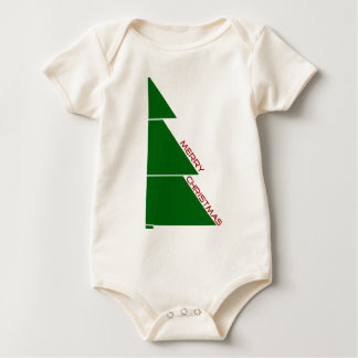 Merry Christmas Tree - Infant Baby Bodysuit