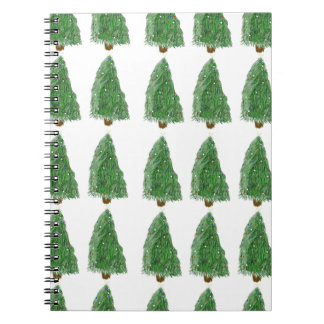 merry christmas tree notebook