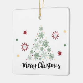 Merry Christmas Tree Ornament
