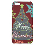 Merry Christmas Tree Snowflakes Holiday Gifts Case For iPhone 5C