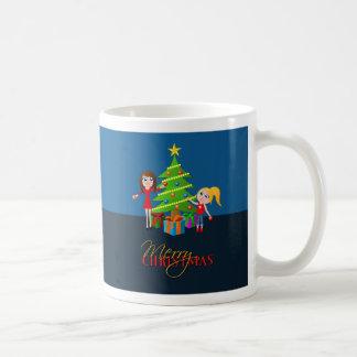 Merry Christmas Tree Standard Mug