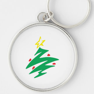 Merry Christmas Tree Star Button Hat Keychain Bags