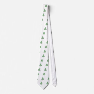Merry Christmas Tree Tie