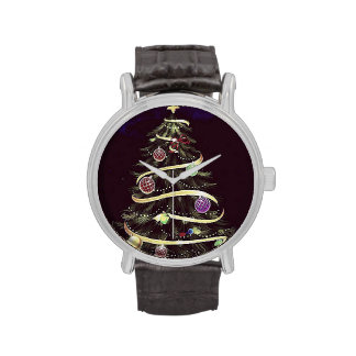 Merry Christmas tree Watches