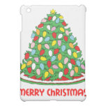 Merry Christmas Tree with Multicolor Bubble Lights Cover For The iPad Mini