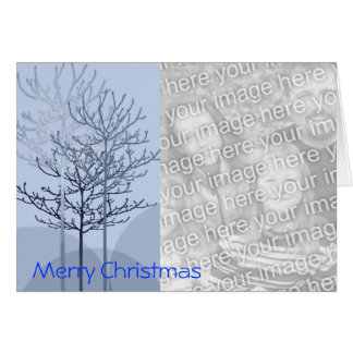 Merry Christmas Trees - Customized Card