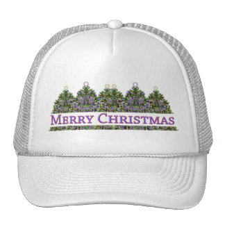 Merry Christmas Trees Hat