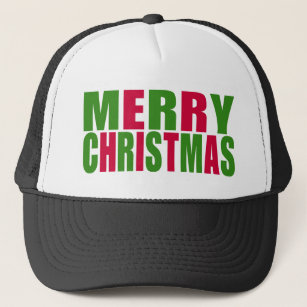 04a242763d6e6 Merry And Bright Christmas Hats   Caps