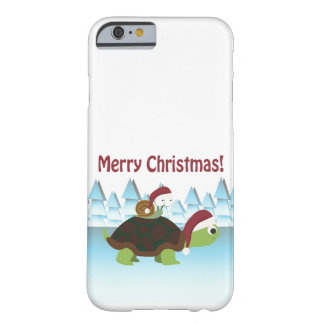 Merry Christmas! Turtle and Snail Barely There iPhone 6 Case