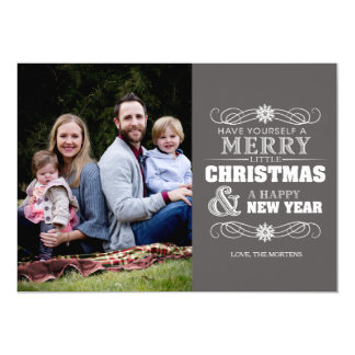 Merry Christmas Type Card