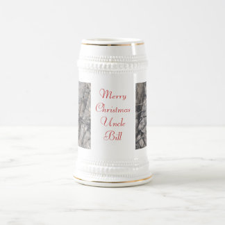 Merry Christmas Uncle Beer Stein
