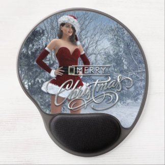 Merry Christmas Vicky Gel Mouse Pad