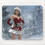 Merry Christmas Vicky Mouse Pad