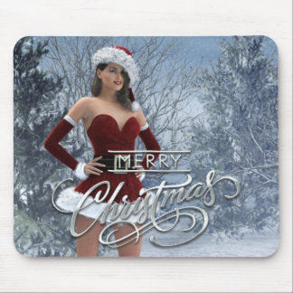 Merry Christmas Vicky Mousepad