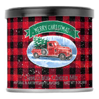 Merry Christmas Vintage Truck Buffalo Plaid Hot Chocolate Drink Mix
