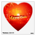 Merry christmas wall graphic