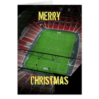 Merry Christmas - Wembley Stadium Card