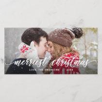 Merry Christmas Whimsical Greeting Holiday Card