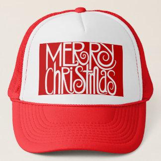 Merry Christmas White Hat
