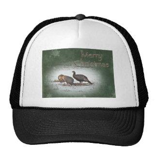 Merry Christmas Wild Turkey Hats