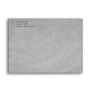 Merry Christmas Winter Snow Storm Envelope