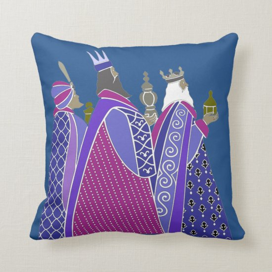 Merry Christmas - Wise Men Pillow
