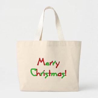 Merry Christmas Wish Tote Bags
